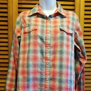 Wrangler plaid shirt